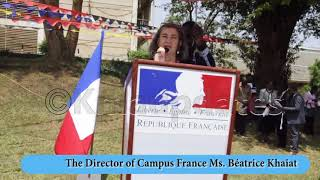 French education information centre opens at Makerere University