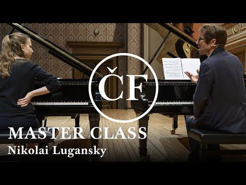 Nikolai Lugansky: master class (Česká filharmonie / Czech Philharmonic)