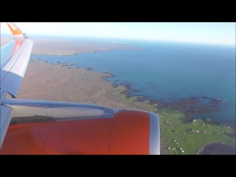 Breathtaking Departure From Keflavik, Iceland! | EasyJet Airbus A320