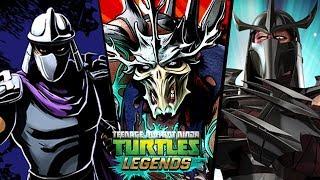 Черепашки-Ниндзя: Легенды - ТРИ ПЛАТИНОВЫХ ШРЕДДЕРА ПРОТИВ ВСЕХ БОССОВ (TMNT Legends UPDATE X)