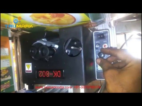 online hot ink coder  - printing date mrp batch no spice packing machine