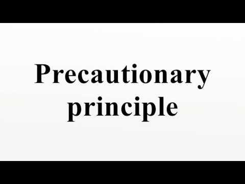 Precautionary principle
