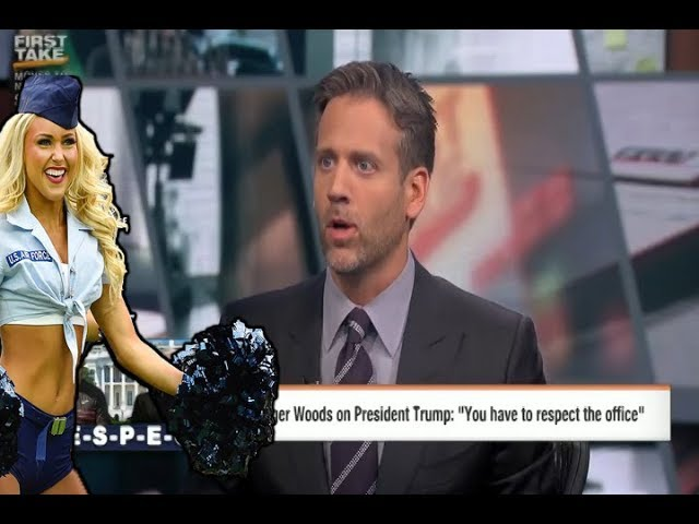 ESPN Max Kellerman Melts Down Over Tiger Woods, Trump - Fails To Sell Single Demo