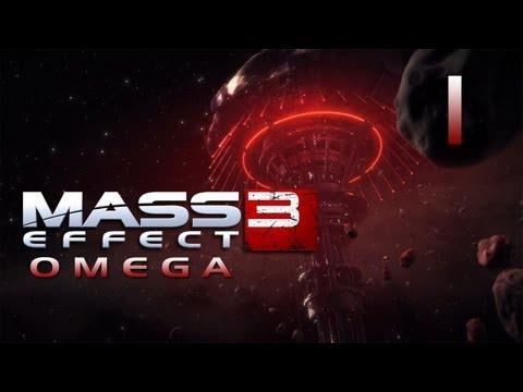 Mass Effect 3 DLC Omega - Прохождение pt1