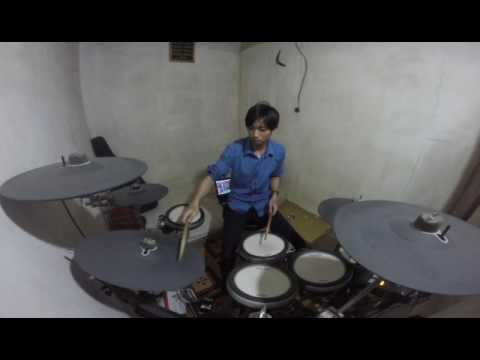 Andra & The Backbone - Tunggu aku Drum Cover.