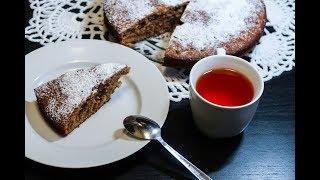 Ореховый пирог с медом. Рецепт орехового пирога
