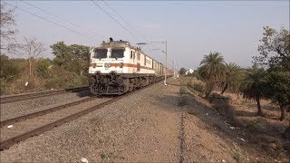 India's Fastest Ever AC Special Train Beating Most Rajdhani Express Trains Exceeds 120Kph At Saphale