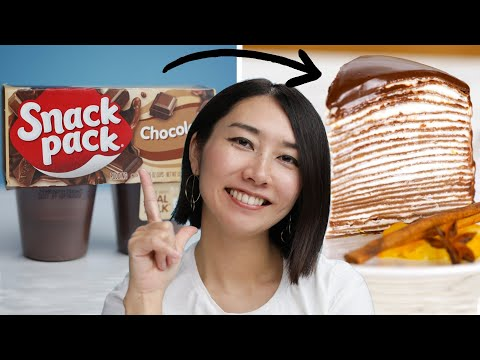 Can This Chef Make Chocolate Pudding Fancy? •Tasty