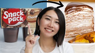 Can This Chef Make Chocolate Pudding Fancy? • Tasty
