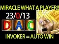 Miracle Invoker = Auto Win DAC Liquid vs Newbee Dota 2 EPIC Play
