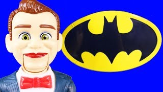 Toy Story 4 Benson + Benson Minis Try Take Over Imaginext Batman Batcave