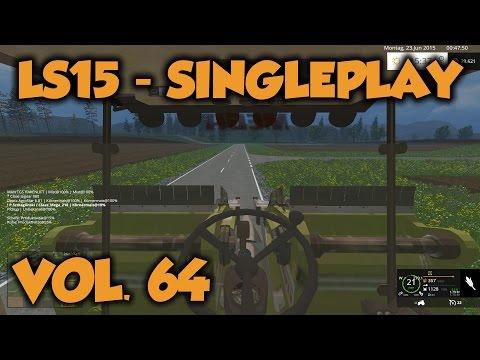 Landwirtschafts Simulator 15 #64 - Abzug des Dreschers
