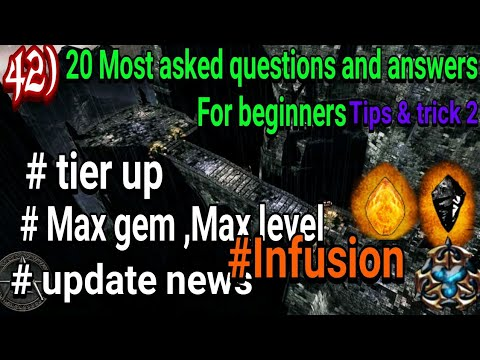 Anima ARPG 20 Most Ask Questions And Answers |how To Tier Up ,next Update | Tips And Tricks Part 2