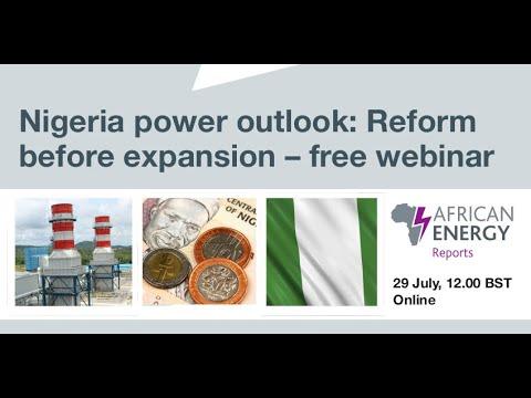 African Energy Nigeria Power Report webinar