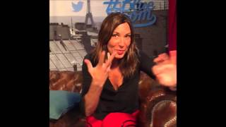 Zazie on Periscope - Live Twitter - La Blue Room - 16/10/2015