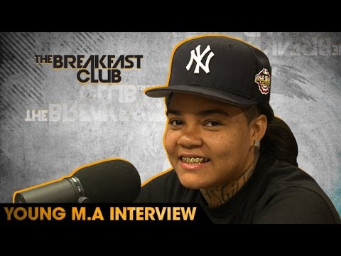 Young M.A Interview With The Breakfast Club...
