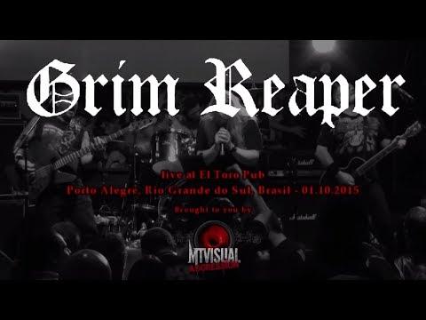 GRIM REAPER - Live at El Toro Pub - Porto Alegre [2015] [FULL SET]