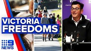 Coronavirus: Victoria lockdown restrictions to ease from midnight   9 News Australia