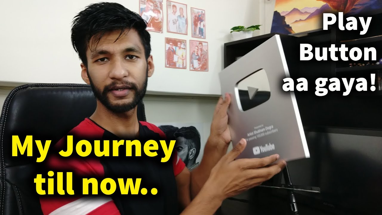 Our Silver Play Button is here 🔥🔥 |  My Journey till now, Education, Art, Experience
