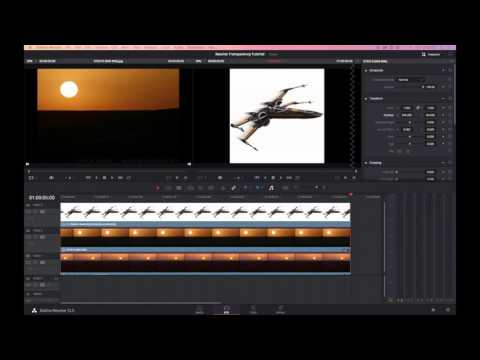 How to create mattes and composite in Resolve 12