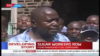 Muhoroni sugar company workers go on strike, accusing manager of runaway corruption