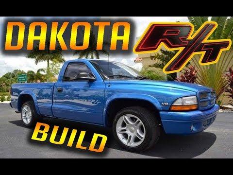 THE DODGE DAKOTA R/T 5.9L TRUCK HAS ARRIVED !!!