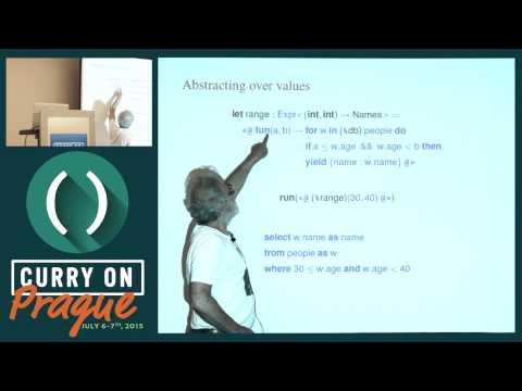 Philip Wadler - Everything old is new again: Quoted domain specific languages - Curry On