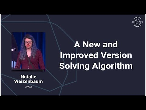 A New and Improved Version Solving Algorithm (DartConf 2018)