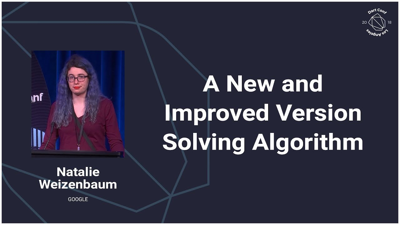 A New and Improved Version Solving Algorithm (Dart Conference 2018)