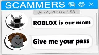 TROLLING ROBLOX SCAMMER #17
