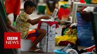 Venezuela indigenous group flees crisis  - BBC News