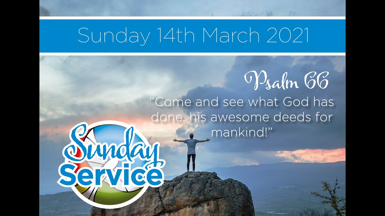 Sunday 14th March 2021