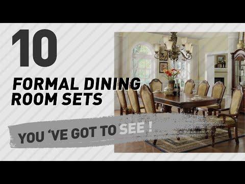 Formal Dining Room Sets // Hot Trending Oct 2017