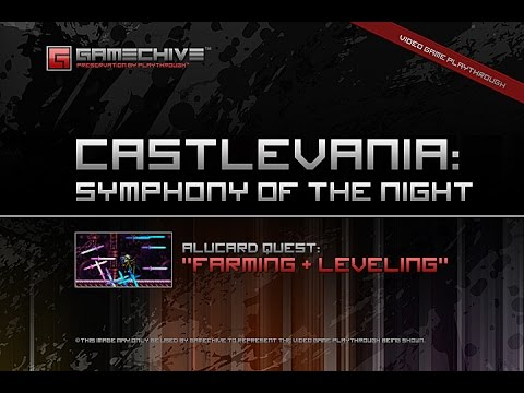 Castlevania: Symphony Of The Night (PS) Gamechive (Alucard Quest: Rare Drops, Farming & Leveling)