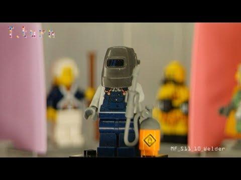 Lego Minifigures Season 11-10 'Welder'