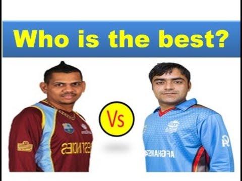 Rashid Khan vs Sunil Narine bowling comparison 2018 || Who is the best?