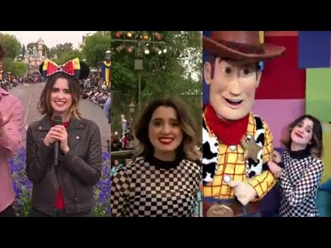 Laura Marano hosting Disney Channel fan fest at Disneyland! streaming vf