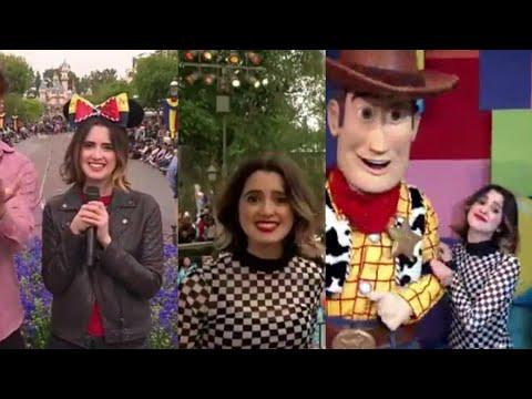 Laura Marano hosting Disney Channel  fest at Disneyland!