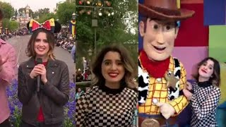Laura Marano hosting Disney Channel fan fest at Disneyland!