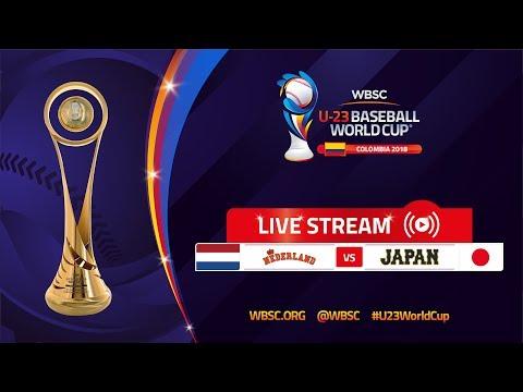 Netherlands v Japan – U-23 Baseball World Cup 2018