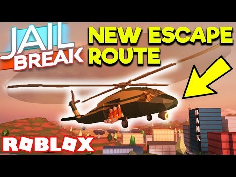 NEW MILITARY HELICOPTER! NEW ESCAPE ROUTE! *1 YEAR UPDATE* WAITING FOR UPDATE   Roblox Jailbreak