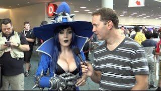 Jessica Nigri Cosplay Comic-Con 2015 (Full Interview)
