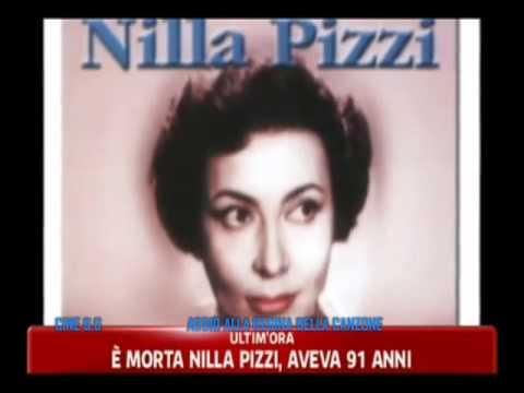 E' morta NILLA PIZZI - Il ricordo della TV e la notizia della scomparsa da parte dei TG
