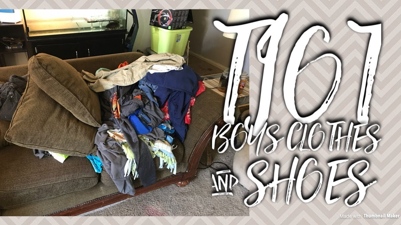 Throw It Out Thursday I Decluttering Boys Clothes Shoes