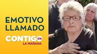 Mujer dio conmovedor testimonio por no pago de su pensión - Contigo en La Mañana