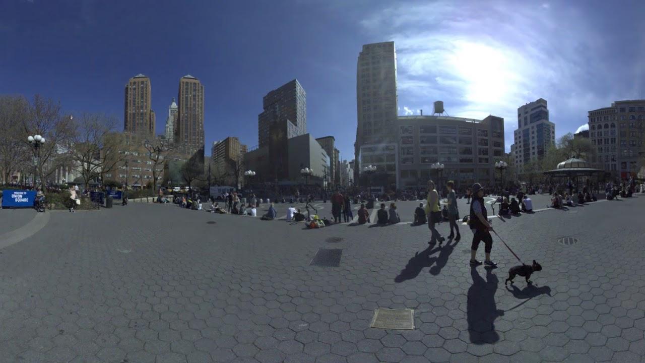 Union Square in 360 -  New York City
