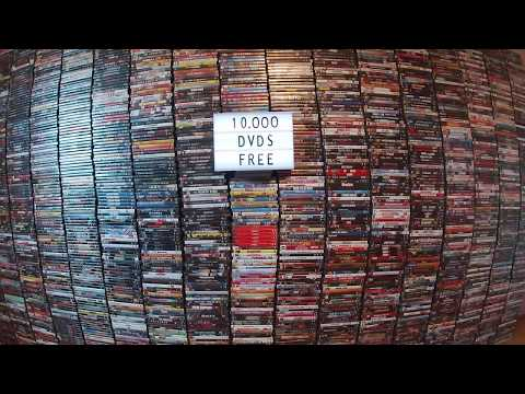 DVD'S Movies / 10,000 DVD's Free Giveaway