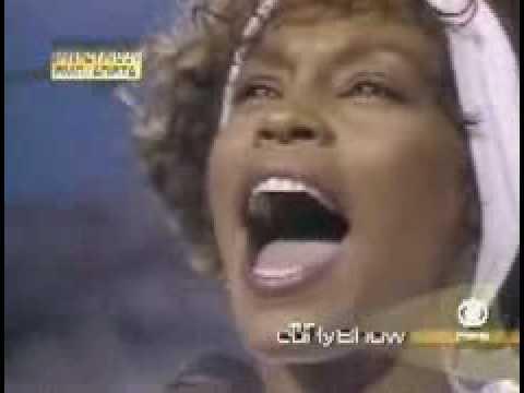 Beyonce on Whitney Houston's historic National Anthem performance