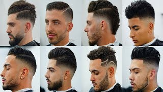 top 20 Most Stylish Men's Haircuts 2018 |  Attractive Haircut & Hairstyles