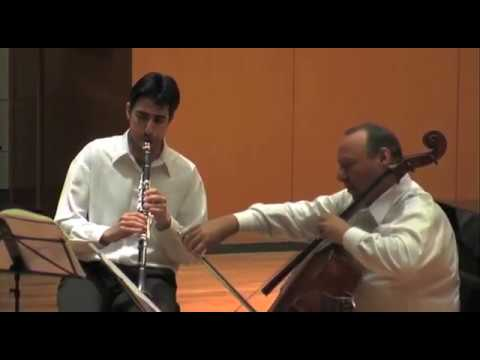 Beethoven: Trio for Clarinet, Cello, & Piano in B-flat Major, Op. 11 2nd Movement